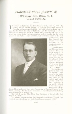 1909 A.C.U. Graduate Yearbook, Page 121