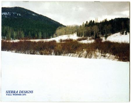 Sierra Designs, Fall/Winter 1974