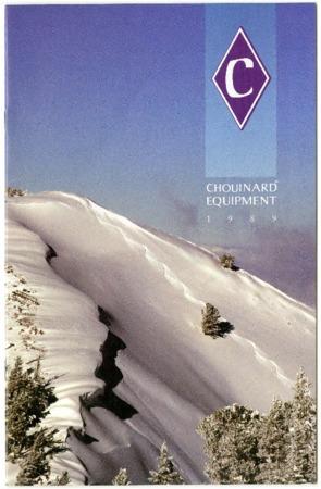 Chouinard Equipment, 1989
