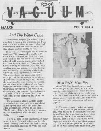 Varied Accounts Concerning Uca Uinta Mischief (VACUUM), Volume 1, Number 3, March 1958