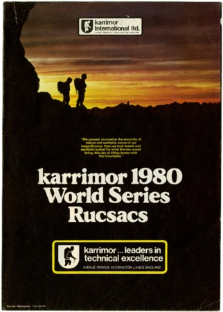 Karrimor International Ltd., 1980