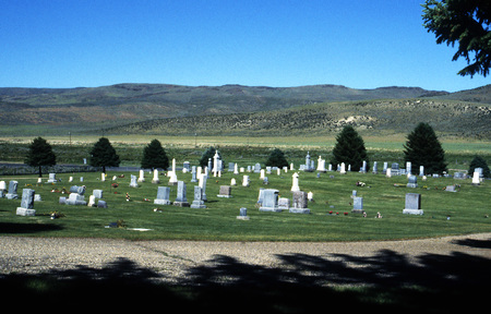 Cemetery in Jordan Valley, Oregon