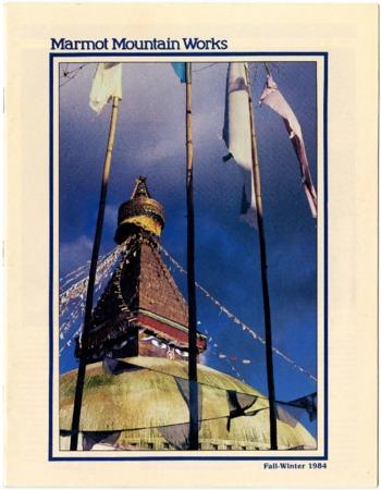 Marmot Mountain Works, Fall/Winter 1984