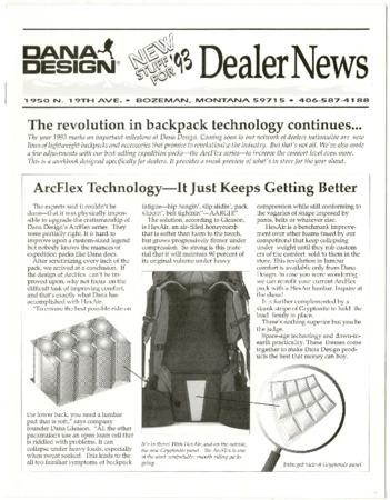 Dana Design, Dealer News 1993