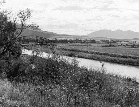 U.I.C.'s East Quinney Branch Bridge, 1967<br />