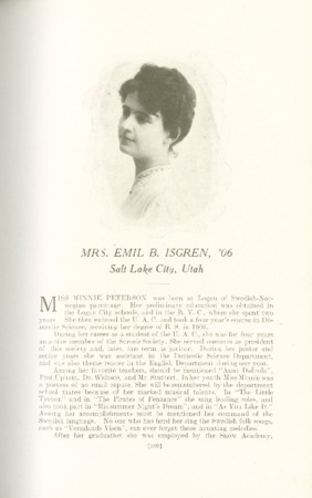 1909 A.C.U. Graduate Yearbook, Page 109