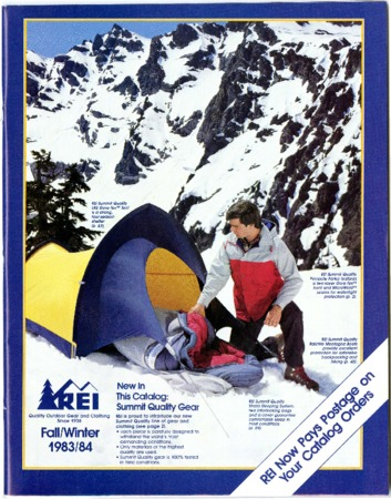 Recreational Equipment, Inc., Fall/Winter 1983-1984