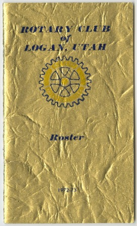 Rotary Club of Logan, Utah Roster, 1972-73