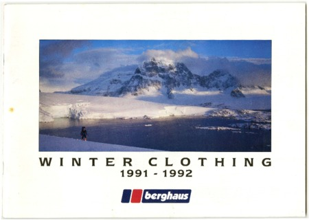 Berghaus, Winter Clothing, 1991-1992