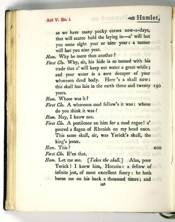 Hamlet, Act 5 Scene 1, i