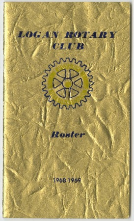 Logan Rotary Club Roster, 1968-69