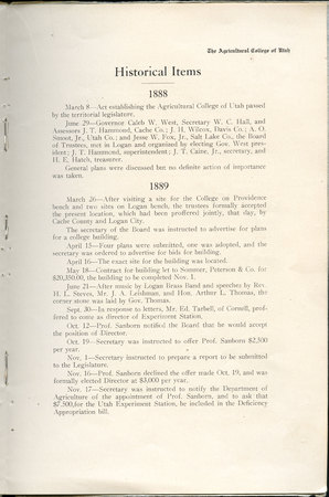 1908 UAC Commencement Program Page 9