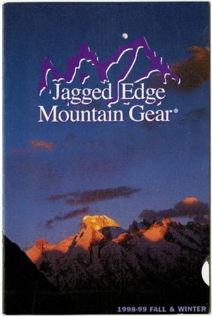 Jagged Edge Mountain Gear, Fall & Winter 1998-1999