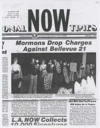 Mormons Drop Charges Against Bellevue 21