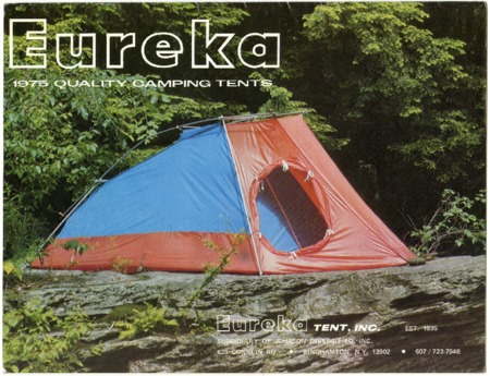 Eureka!, 1975 Quality Camping Tents