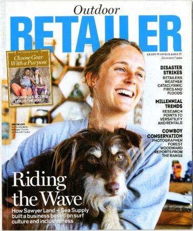 Outdoor Retailer, Riding the Wave, 2018