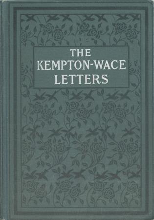Kempton-Wace Letters (2 of 2)