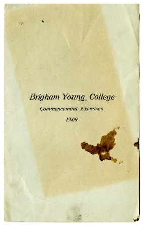 Thirty-Second Commencement Program, May 28, 1909
