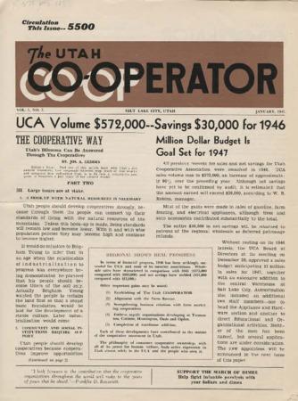 Utah Cooperator, January 1947