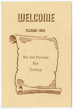 "Brigham Young College ""welcome class 1905"" pamphlet"