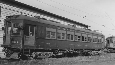 U.I.C. Passenger Car #504 Near Logan, Utah, 1939<br />