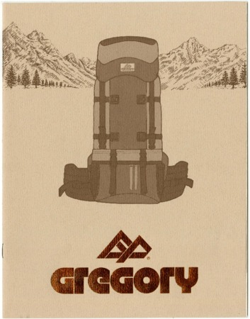 Gregory Mountain Products, backpack, undated