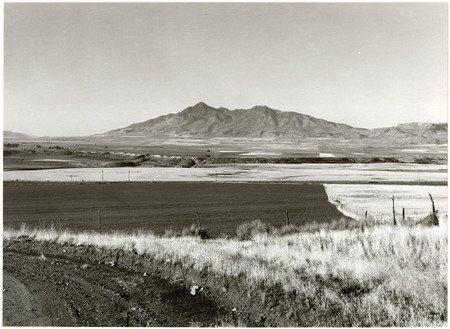 View of Bear River Valley from U.I.C. Grade, 1978<br />