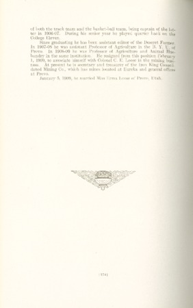1909 A.C.U. Graduate Yearbook, Page 174