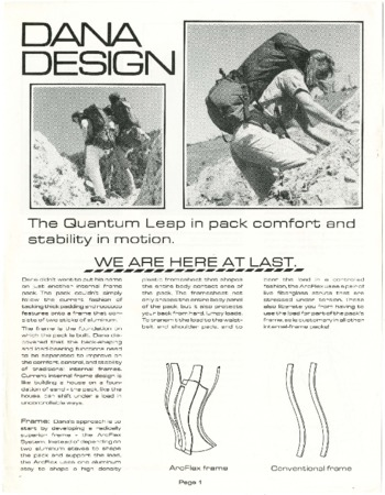Dana Design, undated