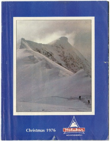 Holubar Mountaineering Ltd., Christmas 1976