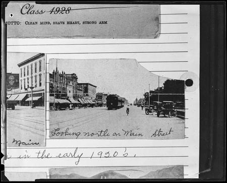 U.I.C. Train on Logan Main Street, 1920s<br />