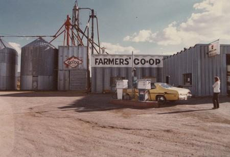 "Front view of the ""Farmers Co-op of Southern Utah, Enterprise, Utah;"