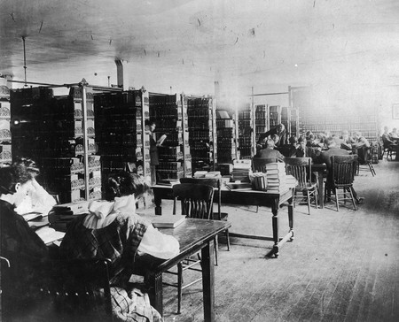 Library Reading Room, circa 1905