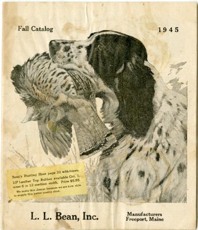 L.L. Bean, Fall 1945